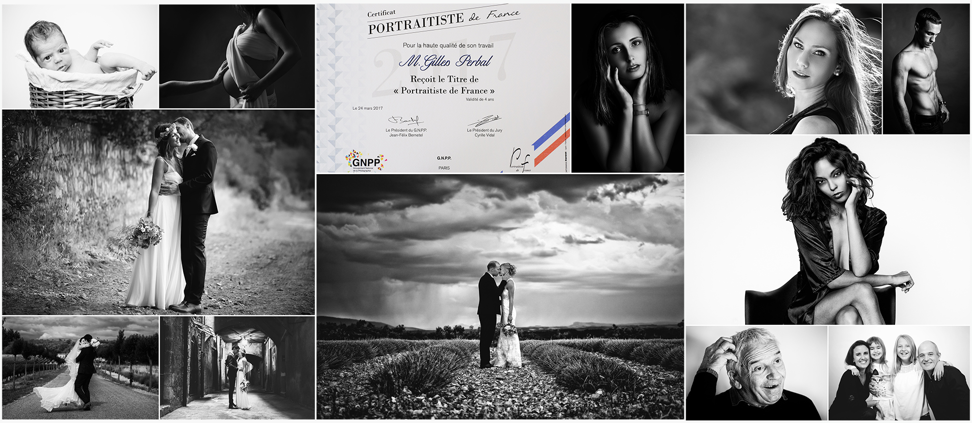 Gilles Perbal portraitiste de france 2017