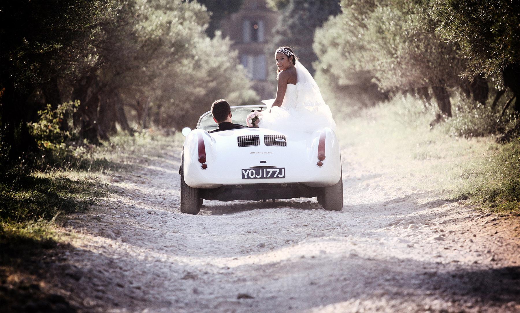 Photographe mariage trets