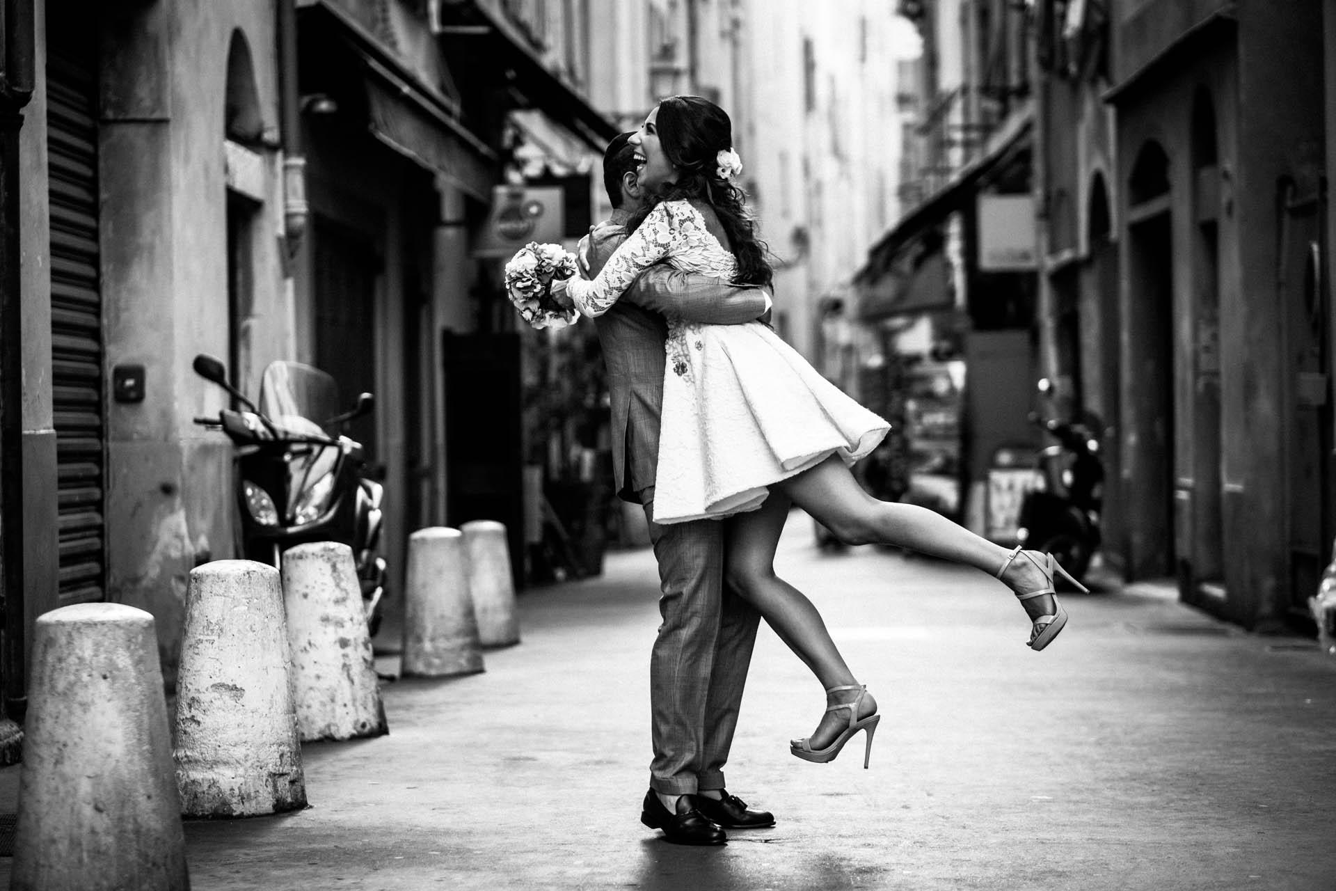 photographe mariage original toulon