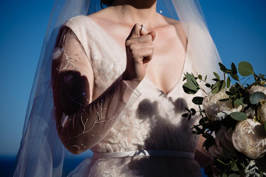 photo cérémonie mariage les pins penchés toulon
