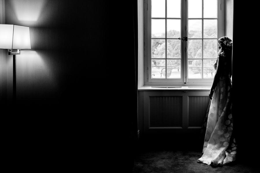 photo de mariée à l'hotel à toulon
