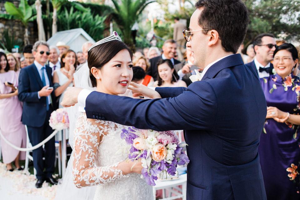 retouche photo de mariage moderne