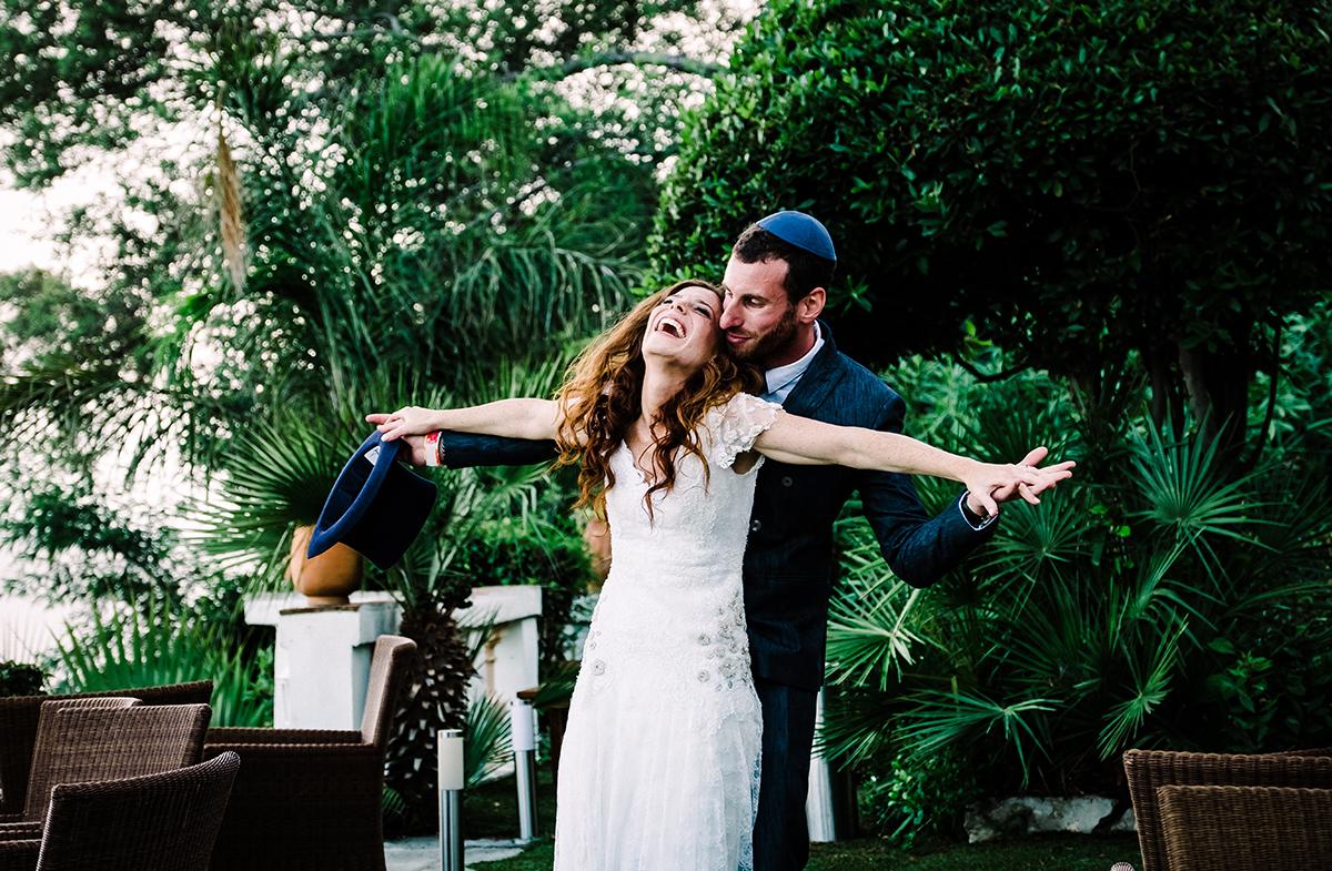 photo mariage juif les pins penchés