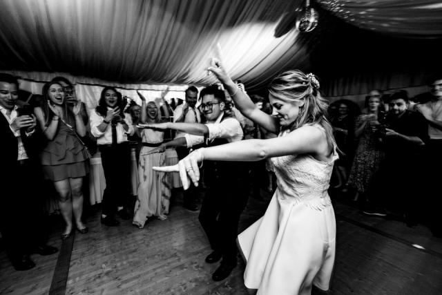 photo soirée de mariage genève