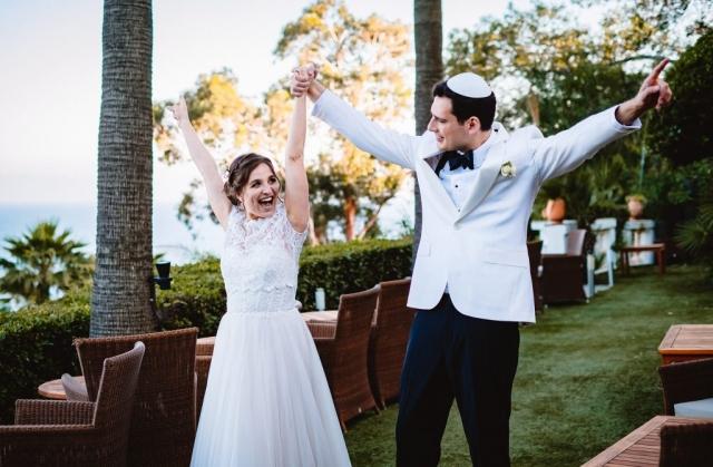 photo de couple mariage les pins penchés toulon