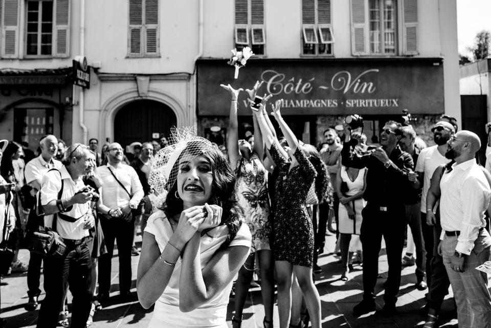 photo lancé de bouquet mairie de nice