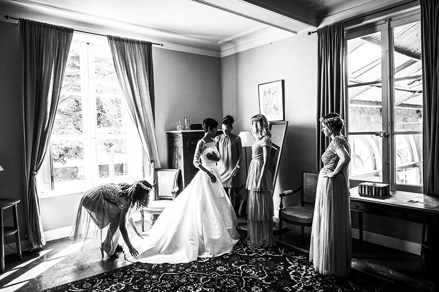 photographe mariage chateau alpheran