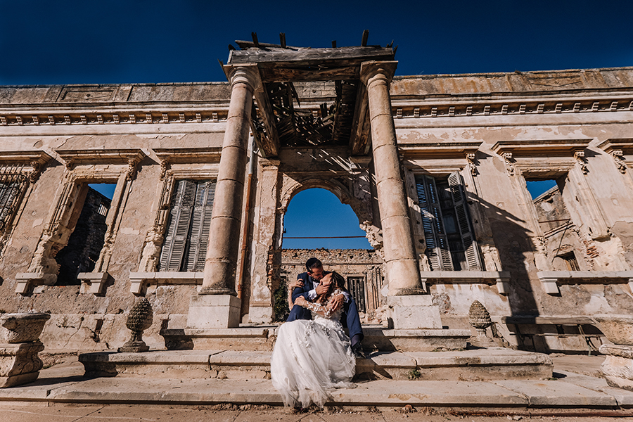 photographe mariage chateau roquefeuille
