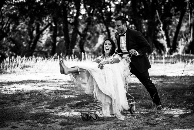 photographe mariage trash the dress