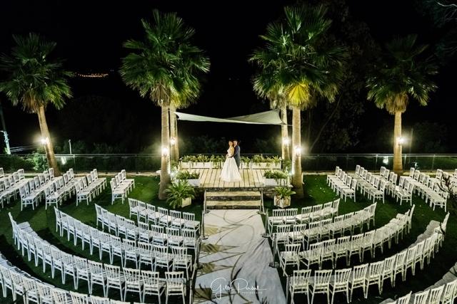 photo de mariage de nuit à antibes