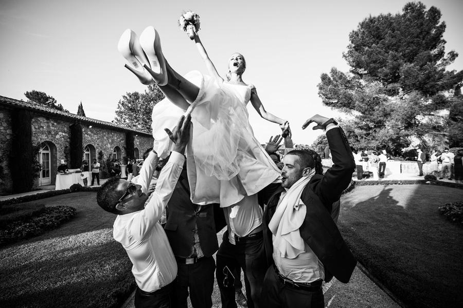 photographe mariage font du broc