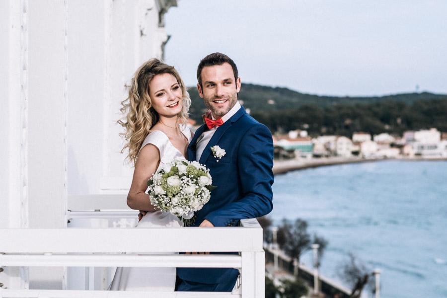 photo de mariage grand hotel des sablettes