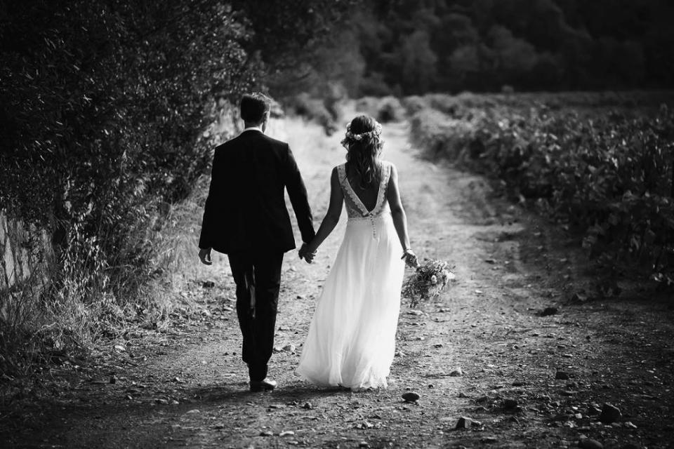 photo de mariage provence