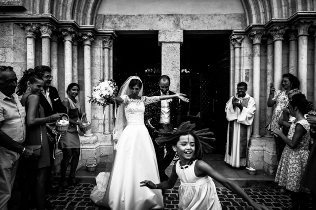 sortie église mariage toulon