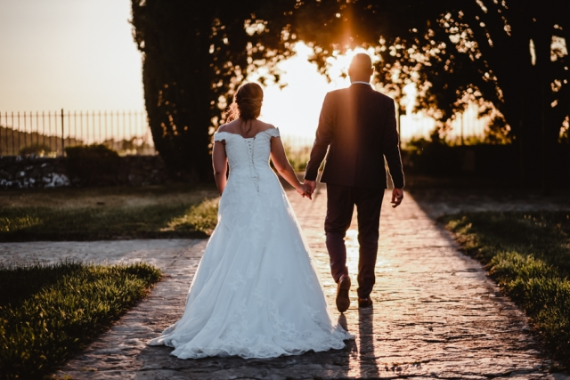 photo mariage chateau les crostes