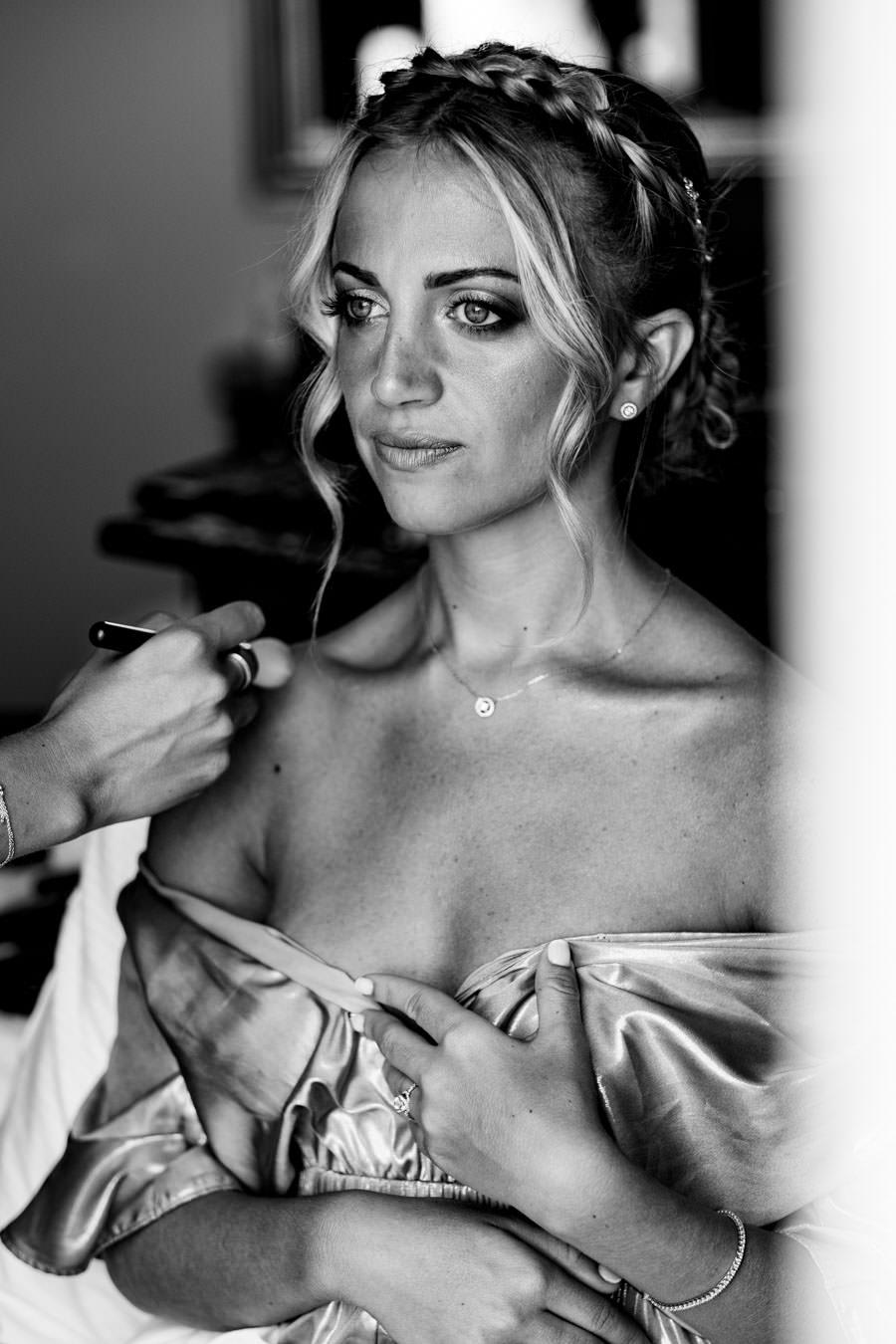 photo de mariée maquillage à toulon