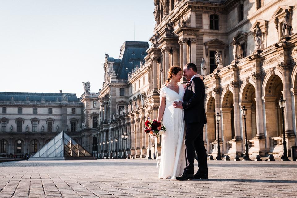 mariage au louvre paris