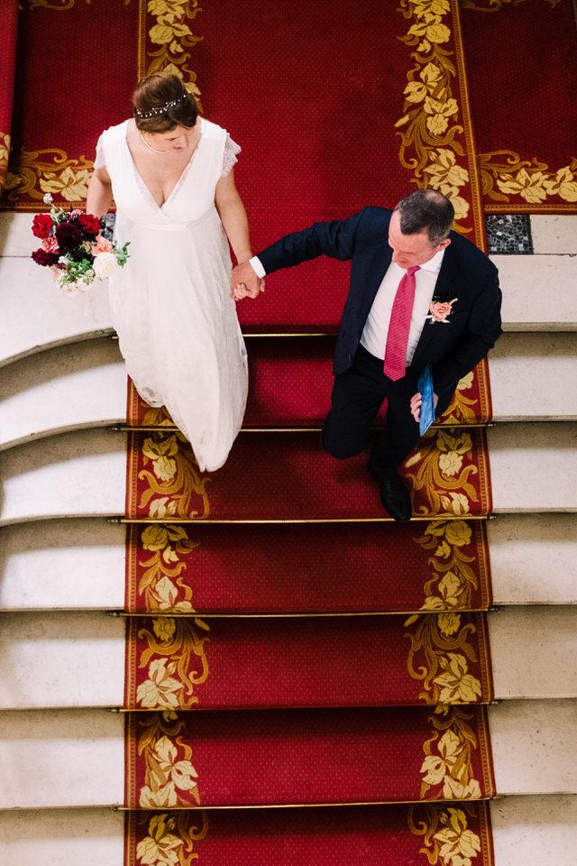 photo de mariage cérémonie civile paris