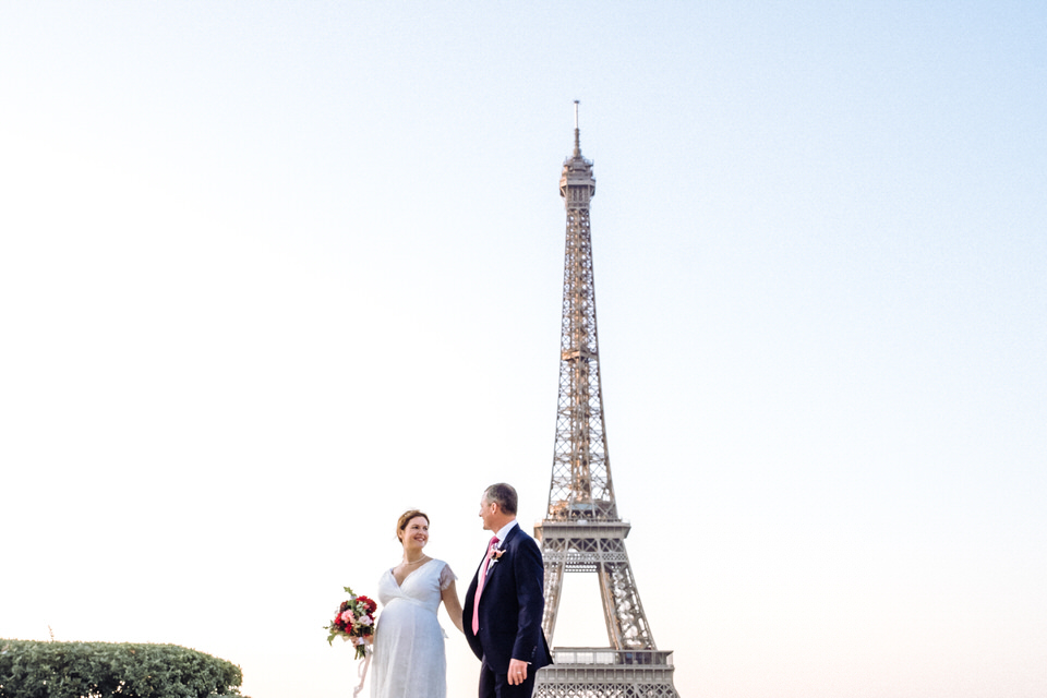 photo de mariage tour eiffel paris