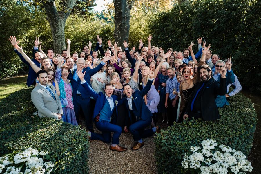photo de groupe mariage gay provence