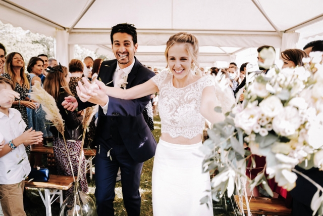 photo cérémonie mariage château beauchêne