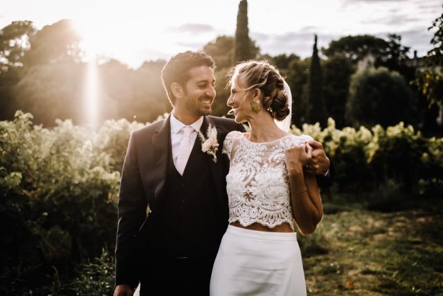photographe mariage vaucluse château beauchêne