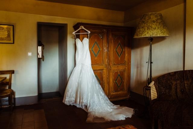 photo de robe de mariée commanderie de peyrassol